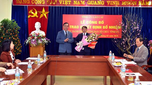 Bổ nhiệm nhân sự mới ở Lào Cai, Lâm Đồng