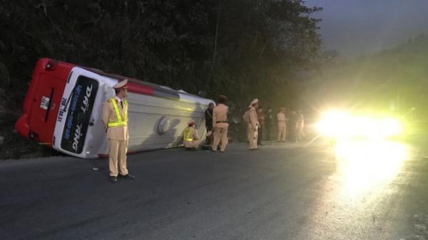 Xe khách gặp nạn tại Sa Pa chiều mùng 5 Tết, 4 người bị thương