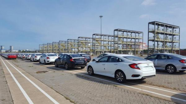 Nóng: Hàng nghìn ô tô Honda cập cảng, giá giảm 200 triệu mỗi chiếc
