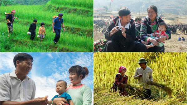 Những khoảnh khắc gia đình hạnh phúc trên mành đất Lào Cai