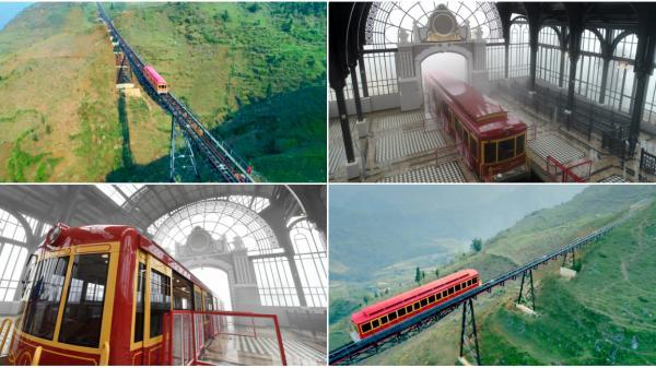 Háo hức chờ đợi tuyến tàu hỏa leo núi dài nhất Việt Nam chính thức hoạt động từ 31/3
