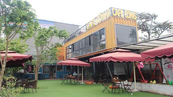 Lào Cai: Mô hình quán cafe từ những chiếc container