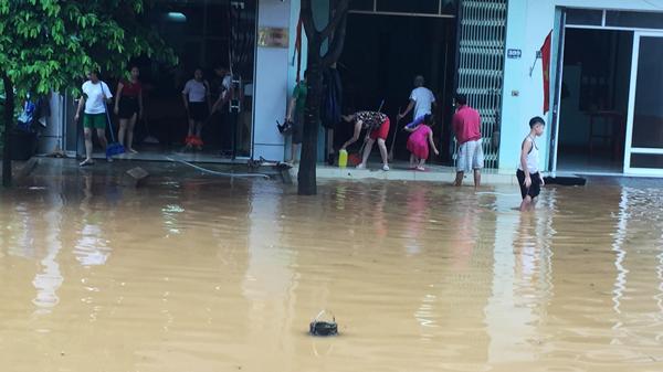 Mưa ở Lào Cai có thể kéo dài đến ngày 22/7