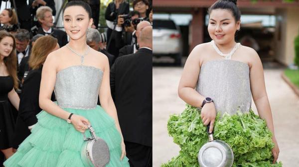 Cosplay hàng hiệu thời trang bằng cách tự làm váy áo bằng đồ ăn, cô bạn Thái Lan tự tin 'chặt chém' mọi nhân vật đình đám