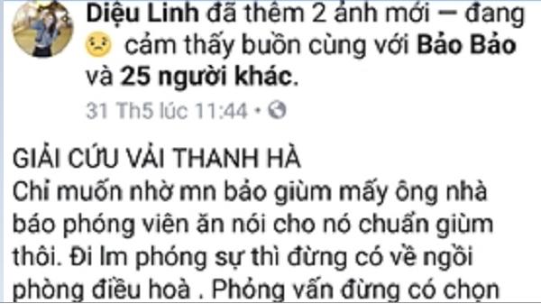 Công an Thanh Hà nhắc nhở Facebooker tung tin sai về vải thiều