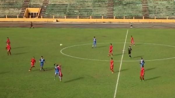 Ngược dòng 3-1 trước trẻ Nam Định, Phố Hiến FC vươn lên dẫn đầu bảng A
