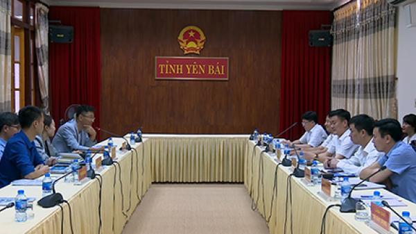 Phó Chủ tịch UBND tỉnh Yên Bái tiếp và làm việc với các nhà đầu tư Hàn Quốc