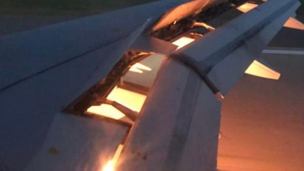 World Cup 2018: Máy bay chở đội tuyển Saudi Arabia bị bốc cháy trên không