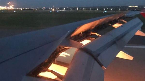 Máy bay chở đội tuyển Saudi Arabia gặp nạn, bốc cháy trên không