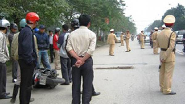 Đang phân luồng giao thông, 1 CSGT gặp tai nạn nguy kịch ở Mỹ Hào, Hưng Yên