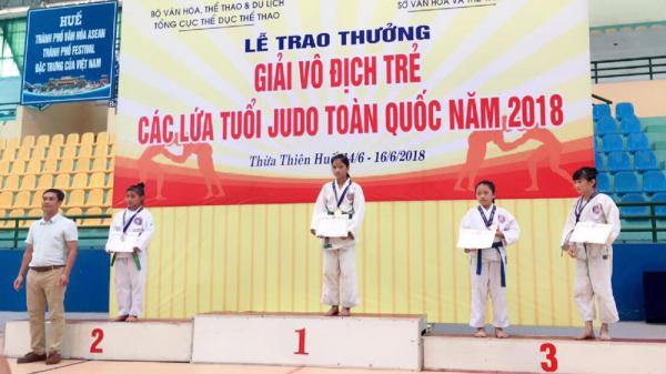 Cô bé 2007 ở Bắc Giang xuất sắc giành HCV nhóm tuổi trẻ Judo toàn quốc