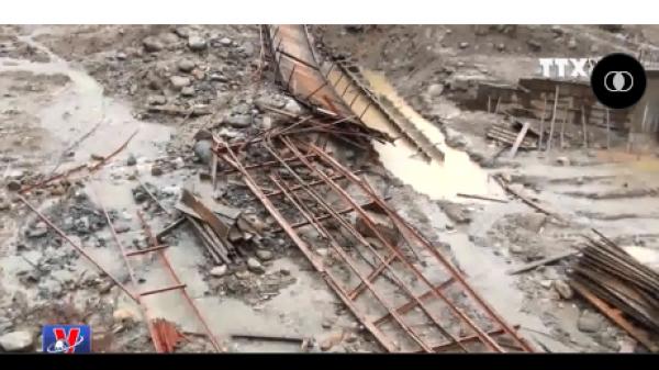 Cầu Nậm Đông đổ sập, người dân một xã ở Yên Bái bị cô lập hoàn toàn