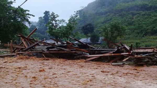 19 người c.hết và mất tích do mưa lũ ở miền núi phía Bắc