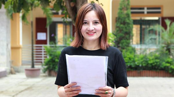 Người phụ nữ Hà Tĩnh U50 từng được bầu chủ tịch xã thi THPT Quốc gia