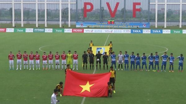 Thắng Bình Thuận 1- 0, CLB Phố Hiến giữ vững ngôi đầu bảng A