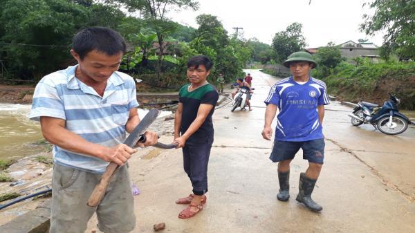 Tình hình mới nhất về lũ ở Sơn Động (Bắc Giang)