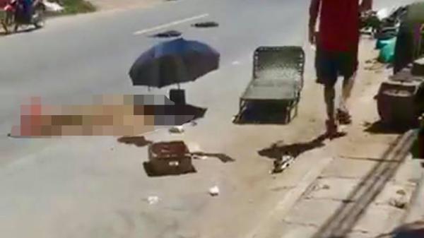 Nam thanh niên Hải Dương tử vong sau cú va chạm với xe bồn chở xăng