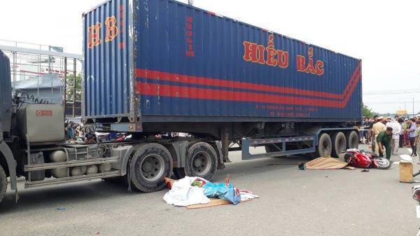 Xe kéo bất cẩn khiến 2 vợ chồng mất mạng, con trai 9 tuổi bị thương nặng