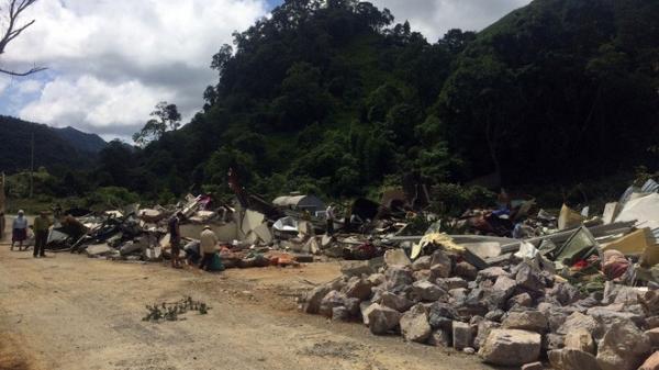 HOT: Sào huyệt của trùm ma túy ở Lóng Luông đã bị san phẳng
