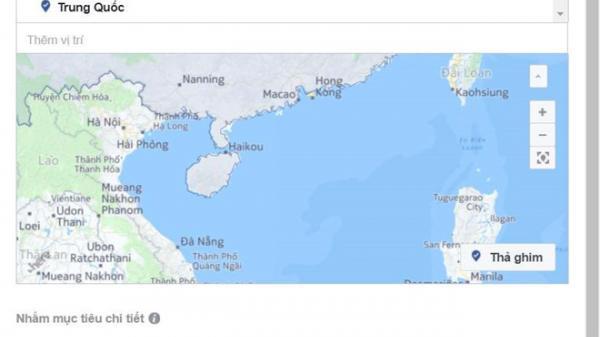 Facebook sửa bản đồ nhưng vẫn gọi Hoàng Sa - Trường Sa là 'Tam Sa'