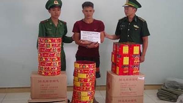 Đối tượng Bắc Giang liều mình vận chuyển cả tạ pháo lấy tiền chơi game