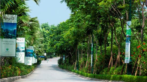 Nhiệt độ ở khu đô thị Ecopark Hưng Yên chênh lệch bao nhiêu so với Hà Nội?