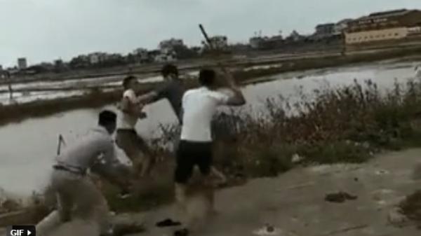 Tranh giành khách, nhân viên 2 nhà xe đánh nhau như phim hành động