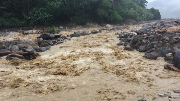Mưa lớn, cảnh báo nguy cơ lũ quét, sạt lở đất trên địa bàn tỉnh Hòa Bình