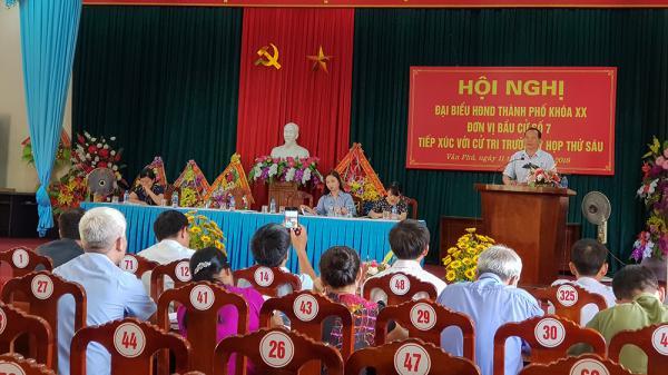 Phú Thọ: Quên không thông báo, cả phường không ai đi dự hội nghị tiếp xúc cử tri