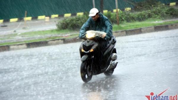 Dự báo thời tiết 13/7: Đêm nay Hà Tĩnh và các tỉnh miền Bắc có mưa to