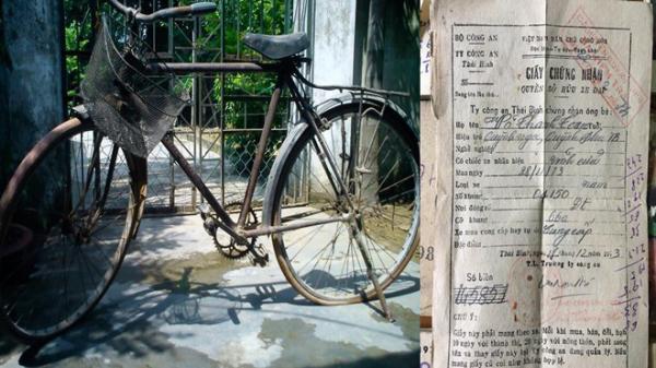 Chiếc xe đạp cổ độc nhất còn giấy chính chủ khiến dân mạng xôn xao bàn tán