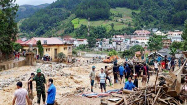 Nguy cơ cao xảy ra sạt lở đất và lũ quét tại các tỉnh miền núi phía Bắc và Bắc Trung Bộ