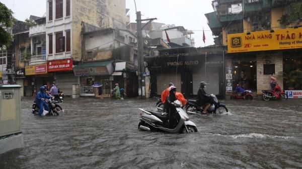 Phú Thọ sẽ mưa rất to do ảnh hưởng của cơn bão số 3
