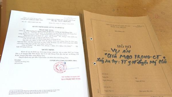 Cựu cán bộ Trung tâm y tế Hưng Yên cấp khống 600 giấy chứng nhận nghỉ việc