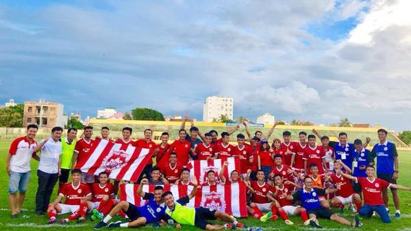 CLB bóng đá Phố Hiến (Hưng Yên) giành quyền lên chơi giải hạng Nhất 2019