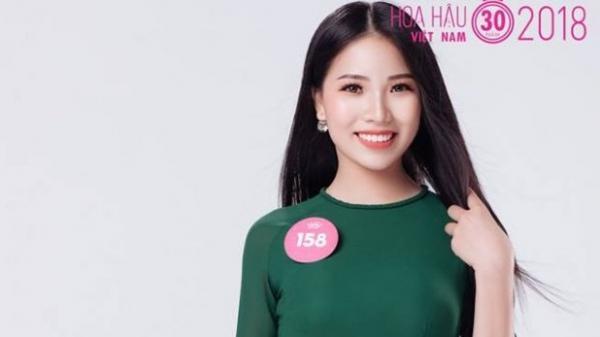 Xuất hiện nữ sinh Bắc Giang xinh đẹp 'không góc chết' lọt vào Chung khảo Hoa hậu Việt Nam 2018