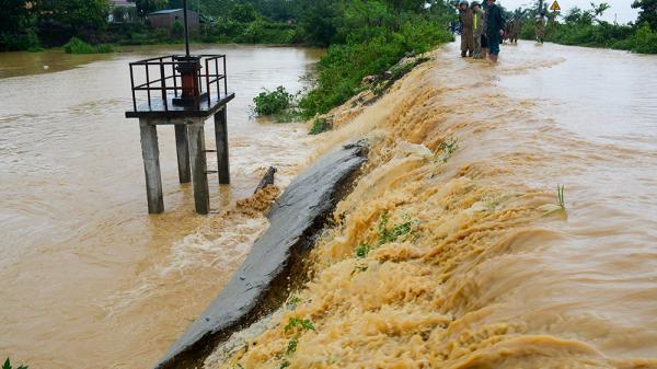 Tình hình mưa bão trên địa bàn toàn tỉnh Phú Thọ
