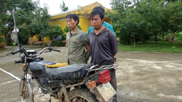 Dùng xe máy vận chuyển 2 bánh heroin đi tiêu thụ nhưng bất thành của 2 thanh niên Điện Biên