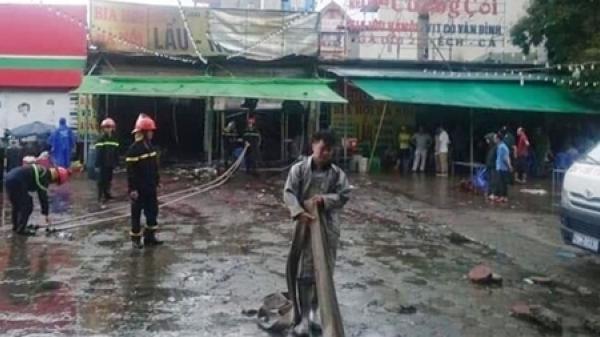 Vụ cháy quán bia làm nữ nhân viên quê Hòa Bình thiệt mạng: Thiếu nữ bị t.ử vong do ngủ trên gác xép