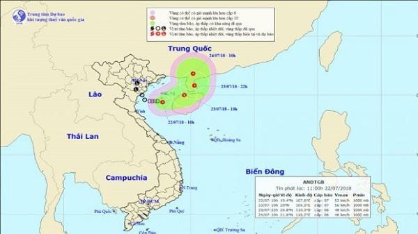 Mưa lớn vừa dứt, Biển Đông tiếp tục xuất hiện áp thấp nhiệt đới mới