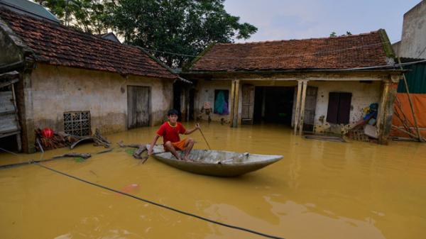 Bắc Bộ tiếp tục đối mặt nguy cơ ngập lụt, sạt lở đất