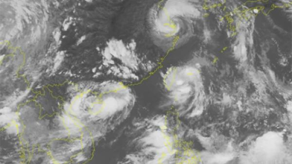 Tuần tới Phú Thọ và các tỉnh Bắc Bộ lại mưa lớn do ảnh hưởng của áp thấp nhiệt đới