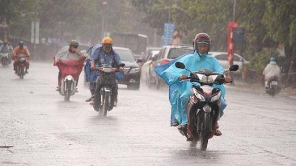 Tuần này các tỉnh miền Bắc lại mưa lớn do ảnh hưởng của áp thấp nhiệt đới