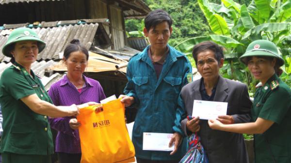 Hơn 300 triệu đồng cứu trợ đồng bào vùng lũ lụt Lai Châu