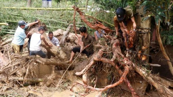 Yên Bái: Tìm thấy 1 thi thể nữ, vẫn còn 3 người mất tích vì lũ