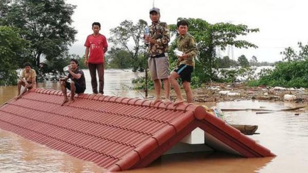 Năm công nhân xưởng cưa người Việt thoát nạn trong vụ vỡ đập thủy điện ở Lào