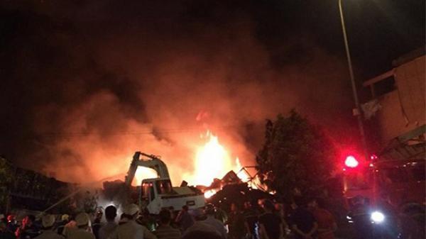 Cập nhật MỚI NHẤT vụ cháy chợ Gạo ở Hưng Yên
