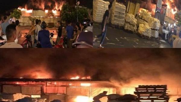 Hưng Yên: Vì sao chợ Gạo cháy rừng rực đến nửa khuya?