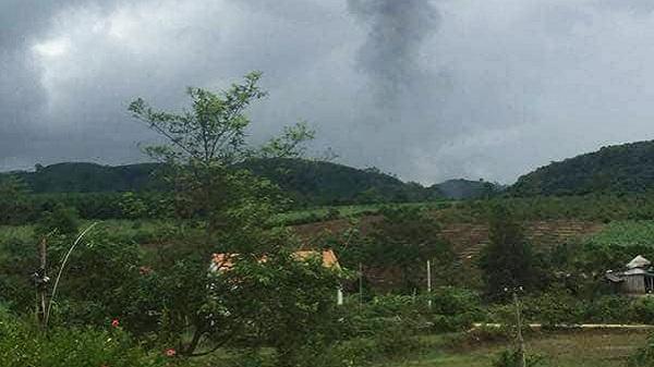 NÓNG: Rơi máy bay quân sự tại Nghệ An, 2 phi công t.ử nạn