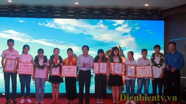 Điện Biên: Trao 35 sản phẩm tiêu biểu trong Cuộc thi sáng tạo thanh thiếu niên, nhi đồng lần thứ II